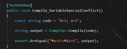 Variable name conflict resolving